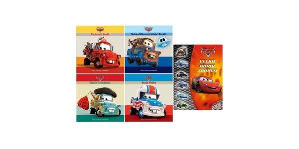 Auta- set 5 knížek, vázané