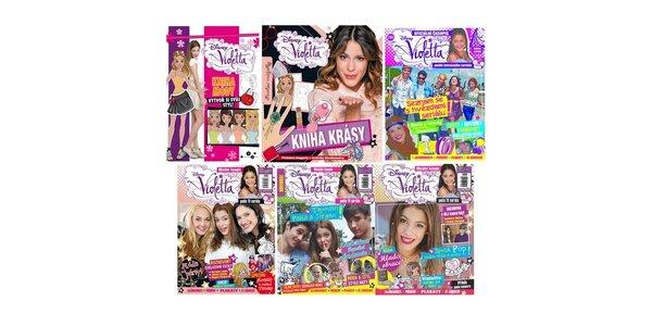 Violetta - knížky+časopisy