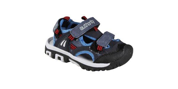 Boriso vycházkové sandálky s uzavřenou špičkou, pro kluky