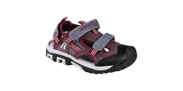 Boriso vycházkové sandálky s uzavřenou špičkou, pro holky