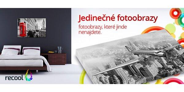 Černobílé fotoobrazy na plátně, které rozzáří Váš domov.