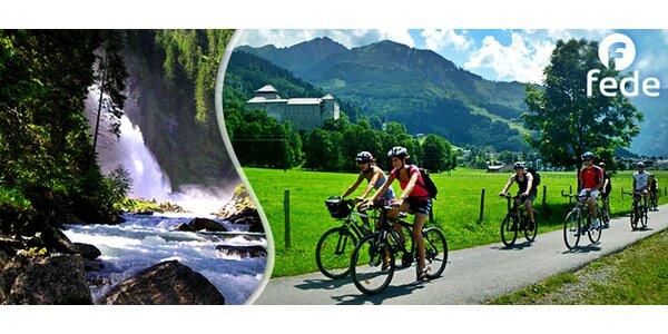 Cyklistický výlet po krásné alpské krajině (5 dní)
