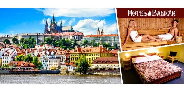 Wellness pobyt na 1 nebo 2 noci v centru Prahy pro dva