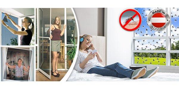 Sítě proti hmyzu do dveří a oken (Red Mosquito)