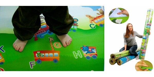 Pěnový vzdělávací koberec BABYPOL pro děti