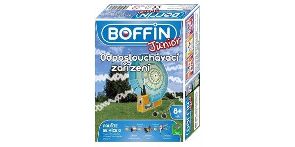 Boffin Junior stavebnice funkční odposlouchávací zařízení - pro venkovní použití