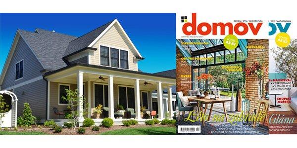 Předplatné časopisu DOMOV 2014 + e-předplatné