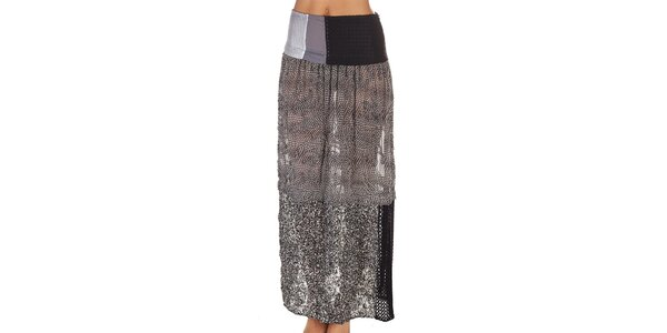 Dámská vzorovaná sukně s flitry Custo Barcelona