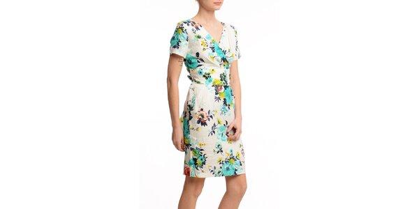 Dámské krátké šaty se zavinovacím výstřihem Butik 7279