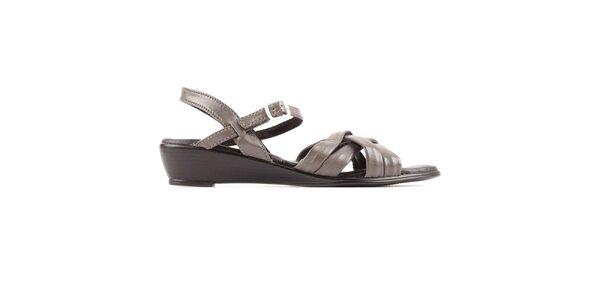 Dámské šedé sandálky Bel canto