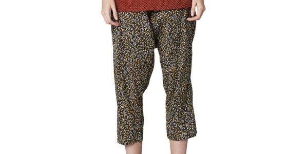 Dámské vzorované capri kalhoty Yhoss