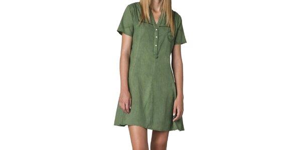 Dámské zelené šaty Yhoss