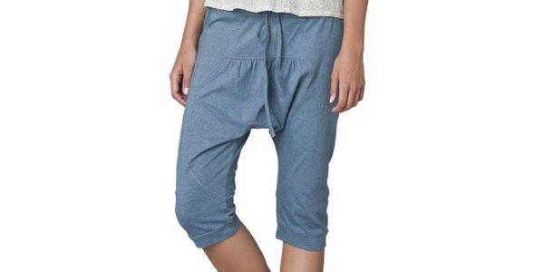 Dámské modré capri kalhoty Yhoss