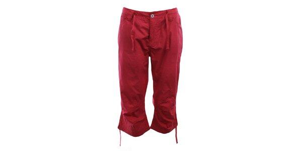 Dámské červené capri kalhoty Authority