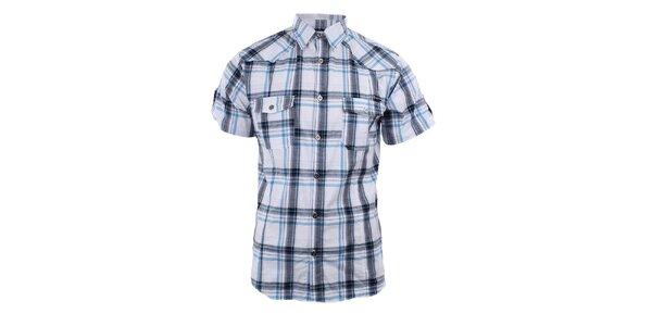 Pánská bílá kostkovaná košile Authority