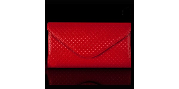 Dámské červené vzorované psaníčko Felice