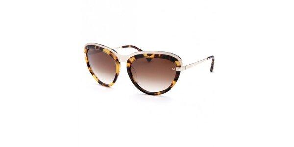 Dámské leopardí sluneční brýle Nina Ricci