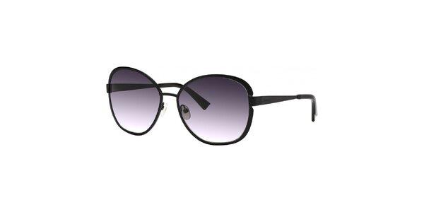 Dámské černé sluneční brýle s gradientními skly Nina Ricci