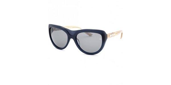 Dámské tmavě modré sluneční brýle s kontrastními stranicemi Nina Ricci