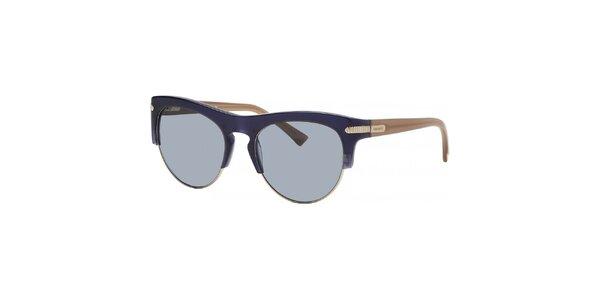 Dámské modro-béžové sluneční brýle Nina Ricci