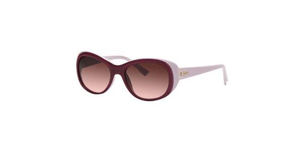 Dámské sluneční brýle v odstínech fialové barvy Nina Ricci