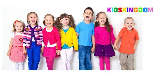 Měsíční docházka do MŠ Kids Kingdom