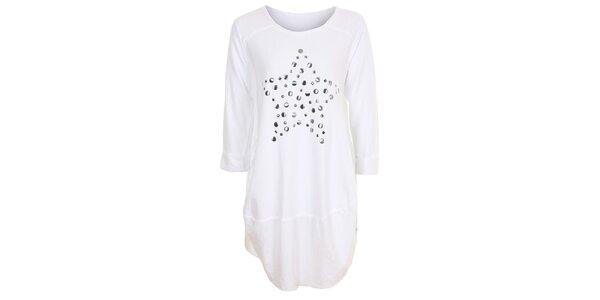 Dámské bílé tunikové šaty Sugar Crisp
