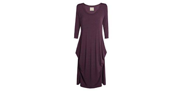Dámské fialové šaty Isabi