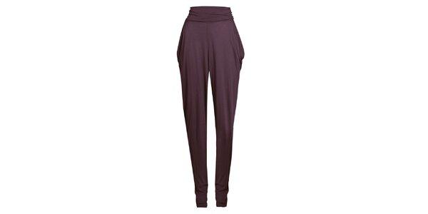 Dámské fialové harémové kalhoty Isabi