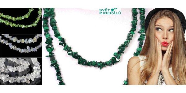 Elegantní náhrdelníky 90cm