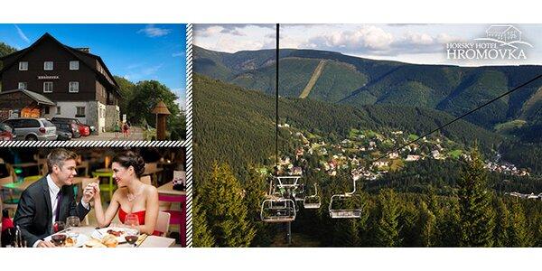 Léto v horském hotelu Hromovka ve Špindlu
