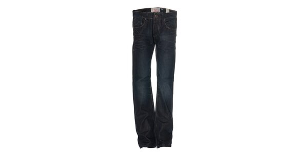 Pánské tmavě modré džíny značky Deeluxe