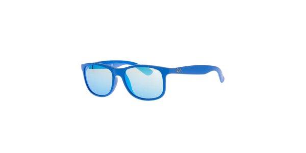 Modré antireflexní sluneční brýle Ray-Ban