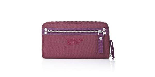 Dámská fialovo-vínová peněženka George Gina and Lucy