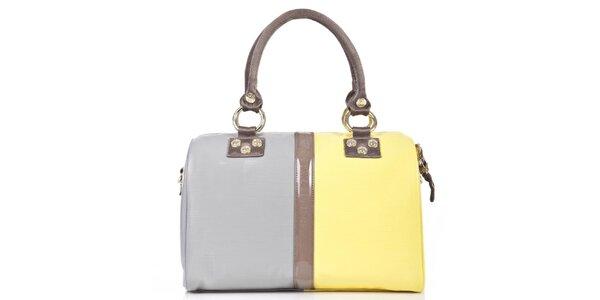Dámská žluto-šedá kabelka George Gina and Lucy