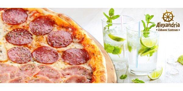 Půlmetrová jumbo pizza + dvě nealko Mojita zdarma