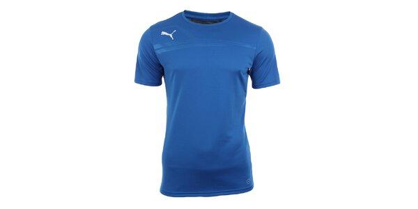 Pánské modré sportovní tričko Puma