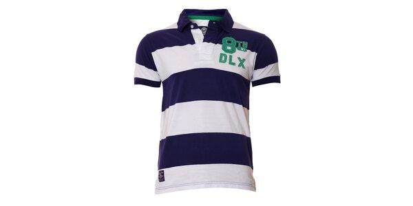 Pánské polo tričko ve fialové barvě značky Deeluxe