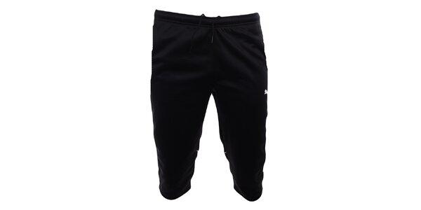 Pánské sportovní černé 3/4 kalhoty Puma