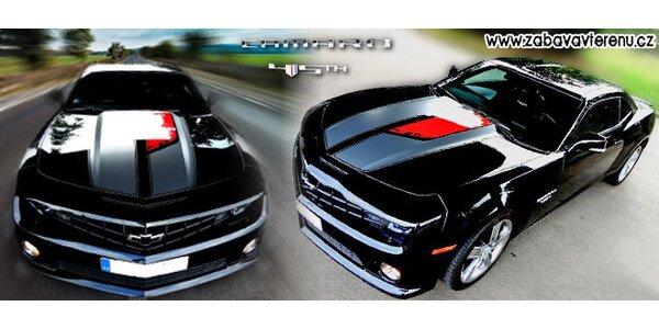 2 hodiny krocení Chevroletu Camaro - až 400 koní
