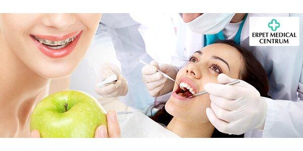 Srovnání zubů rovnátky v Erpet Medical Centru
