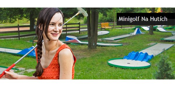 Letní permanentka či jednorázový vstup na minigolf