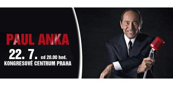 Legenda Paul Anka v Praze - koncert odložen na 22.7.
