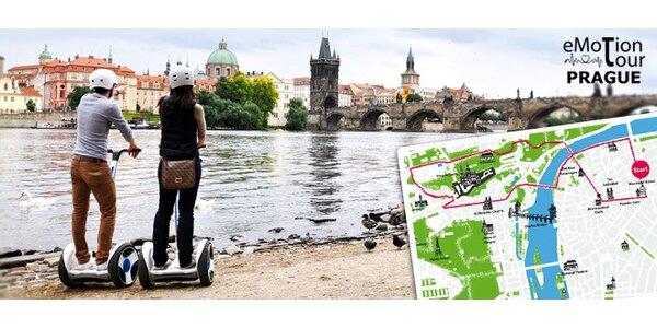 Vyjížďka centrem Prahy na vozítku Ninebot (2 hod.)