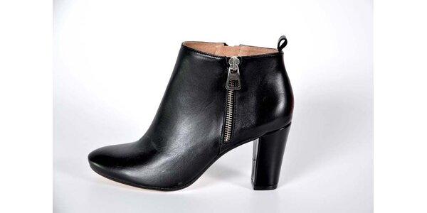 Dámské černé kotníkové boty Bluegenex