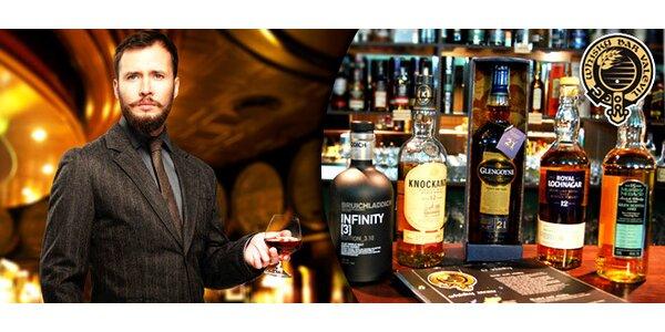 Řízená degustace whisky ve Whisky Baru Valevil