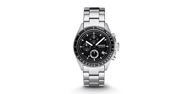 Pánské analogové hodinky z nerezové oceli Fossil