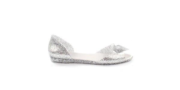 Dámské třpytivé sandálky s ozdobou So Real