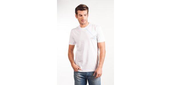 Pánské bílé tričko Calvin Klein