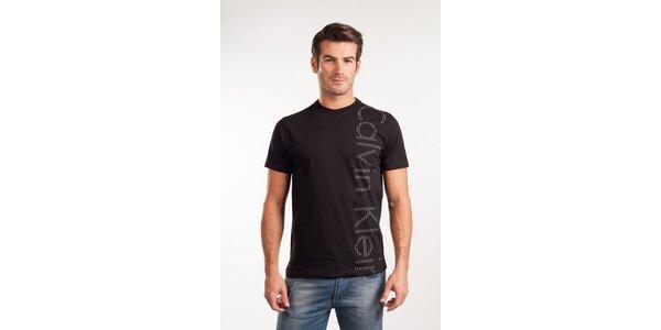 Pánské černé tričko Calvin Klein